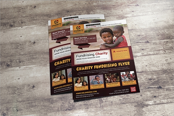 fundraiser charity flyer