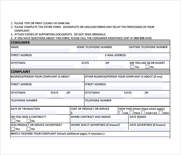 10+ Customer Details Form Template Excel - Event Planning
