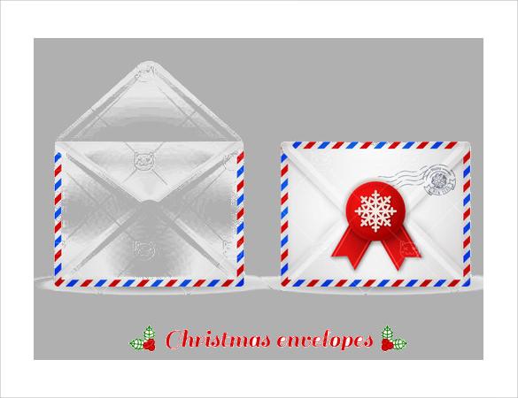 gift card envelope format