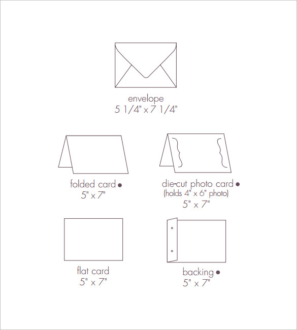 8+ Sample 5x7 Envelopes - PSD, Vector EPS, PDF