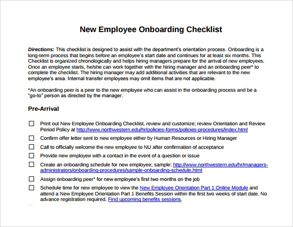 Employee Orientation Template. steps to take in training an ...