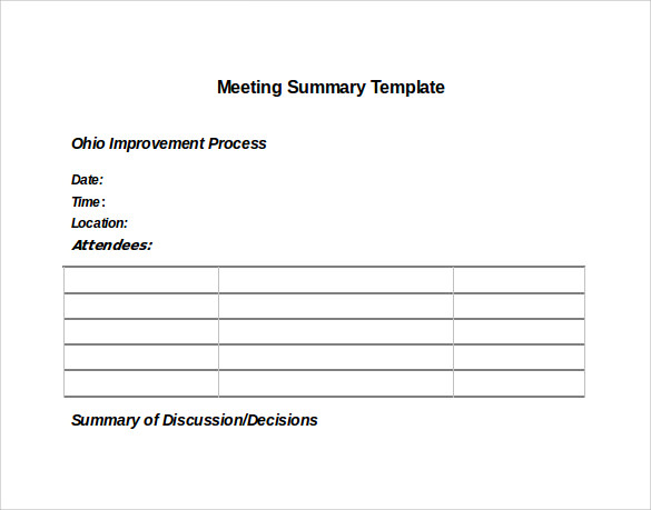 Minutes Of Meeting Sample Doc  CityEsporaCo