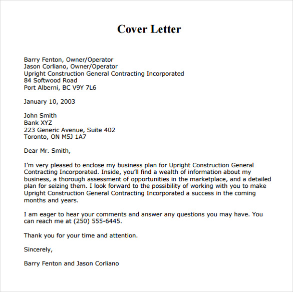 Cover Letter For Hr Business Partner Role Cover Letter Sample Hr – Business Cover Letter