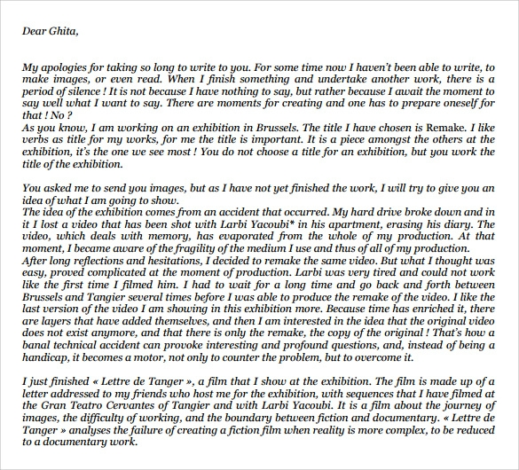 Work Apology Letter - 7 Download Free Documents in PDF , Word