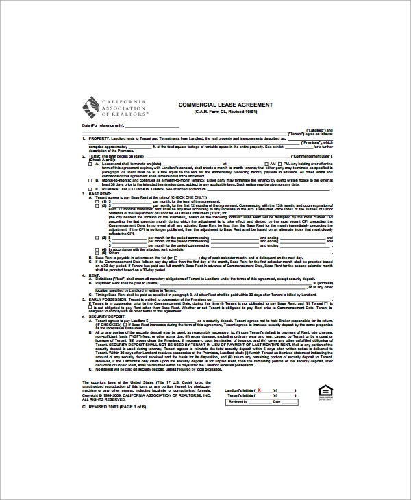 Sample Lease Termination Agreement - Free Documents Download In
