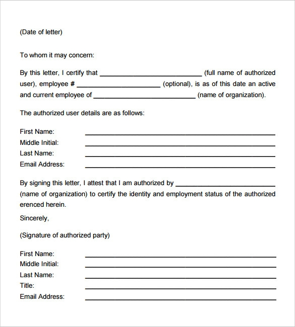 18 employment verification letter templates download for free employment verification letter example spiritdancerdesigns
