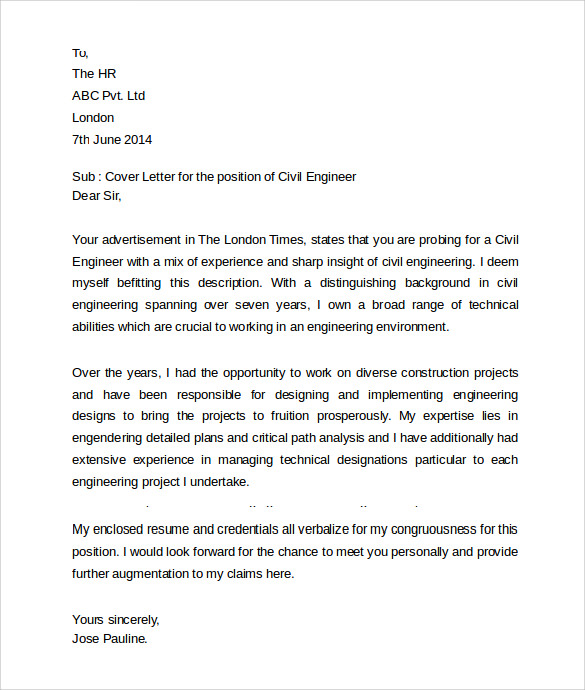 Education Cover Letter 11 Download Free Documents In