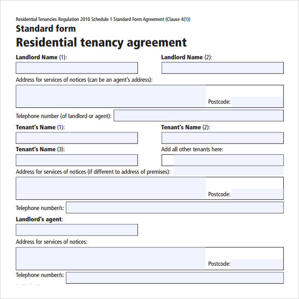 Sample House Lease Agreement - 9+ Free Documents In Pdf,Word