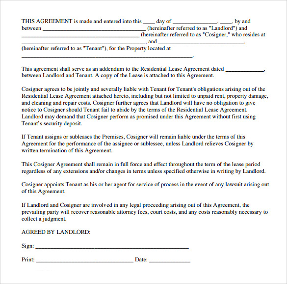 Sample Texas Residential Lease Agreement 7 Documents In PDF Word – Free Residential Lease Template