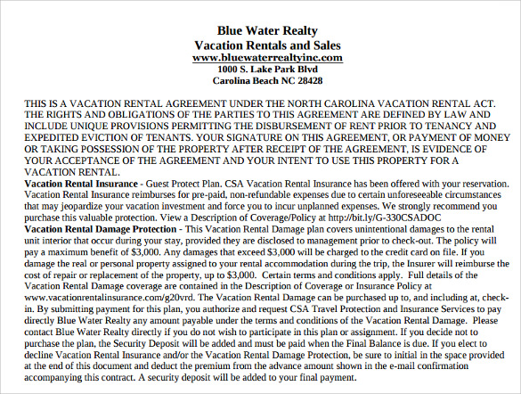 blue water reality vacation results