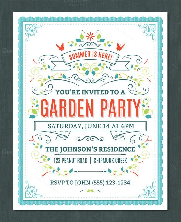beautiful invitation template