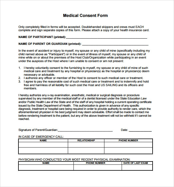 Free Medical Form Get Organized For Back To School  Free Medical