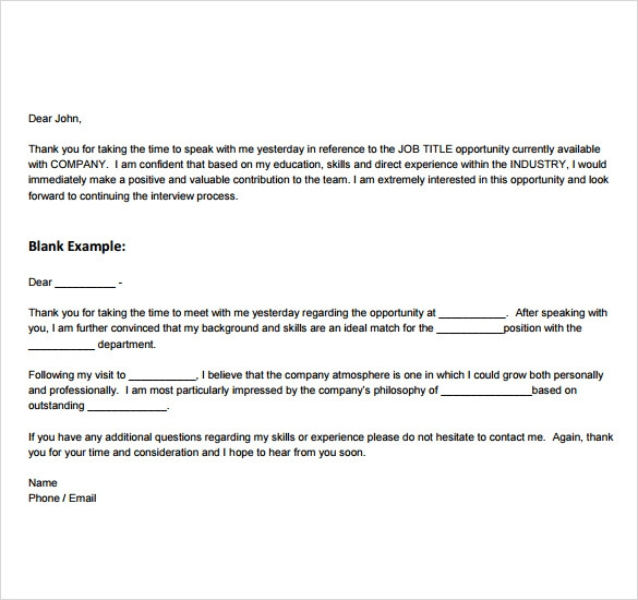 professional thank you note pdf