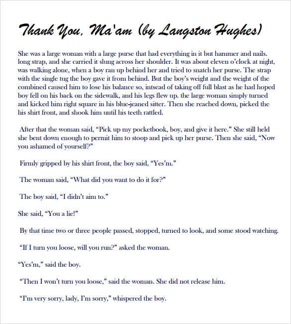 Sample Thank You Notes For Teachers   Documents In Pdf  Word