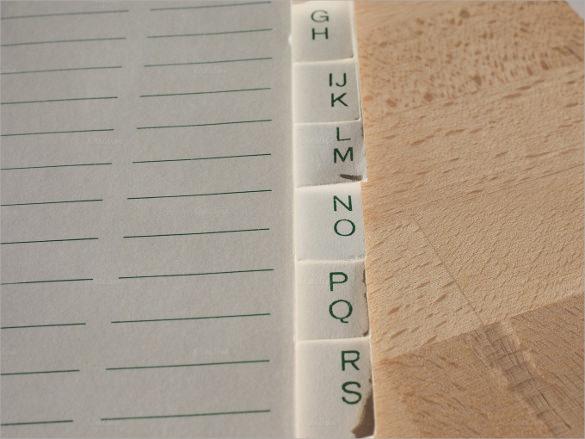 online address books
