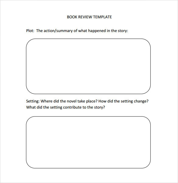 10+ Book Review Templates – PDF, Word | Sample Templates