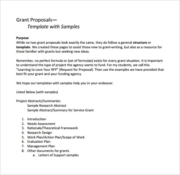 grant proposal research paper Proposal paper topics is an introduction that is mostly submitted to the supervisor in order to explain the details of upcoming planned research.