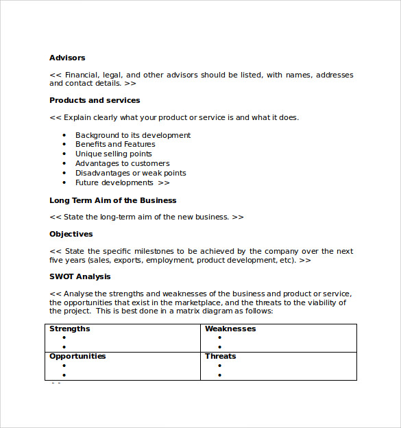 business proposal template download - Business Proposal Template