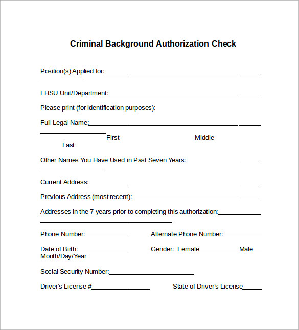 Modest image intended for free printable background check forms