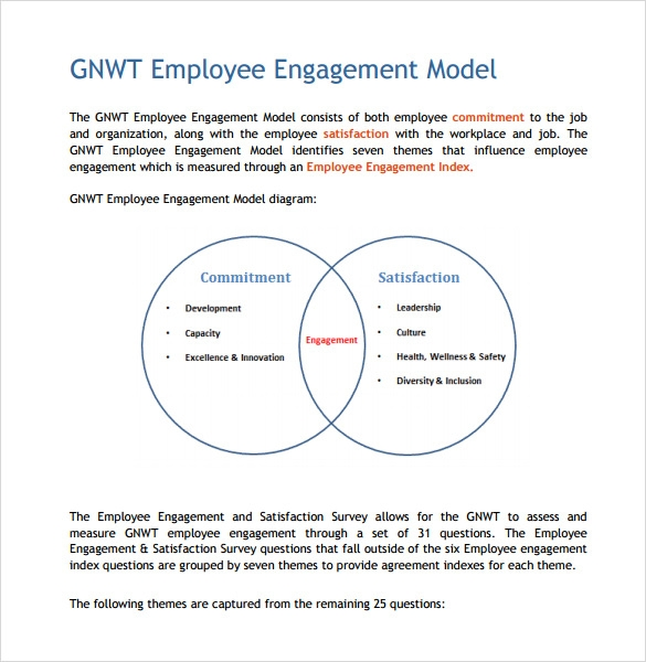 employee engagement survey pdf