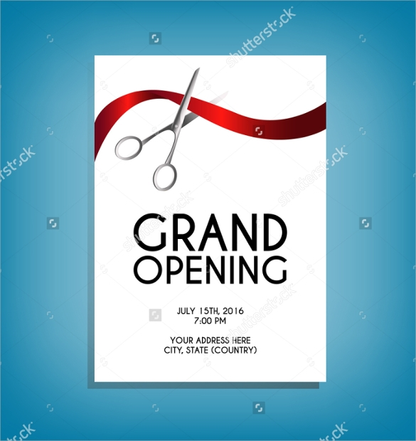 Grand Opening Flyer Template - 17+ Download Document In Pdf, Psd
