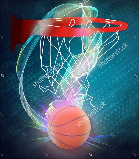 wonderful basketball flyer template