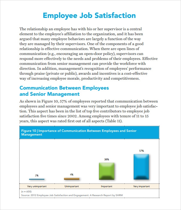 relationship between employee loyalty and job satisfaction survey Satisfaction vs employee engagement: employee satisfaction is the foundation upon which employee engagement can grow and thrive.