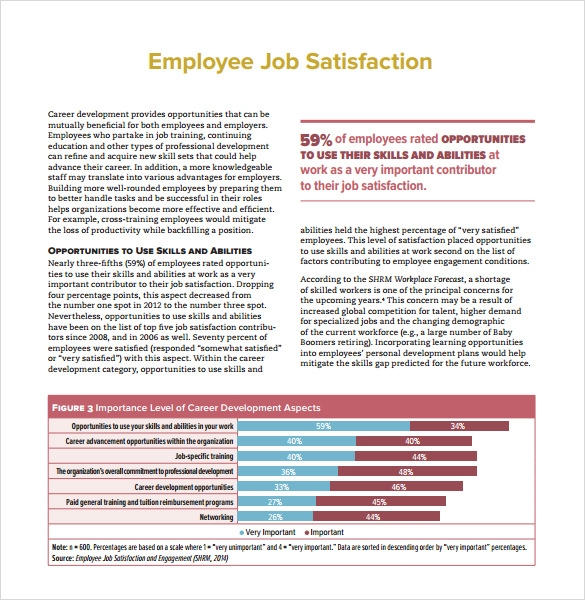 the importance of job contentment for the company production rate and employee welfare Employee motivation quick guide if the job of the employee allows him or her towards one of those higher order goals high rate of employee absenteeism and.