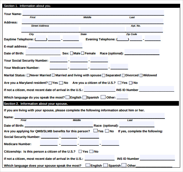 Medicare Application Forms - 9+ Documents Free Download In Pdf