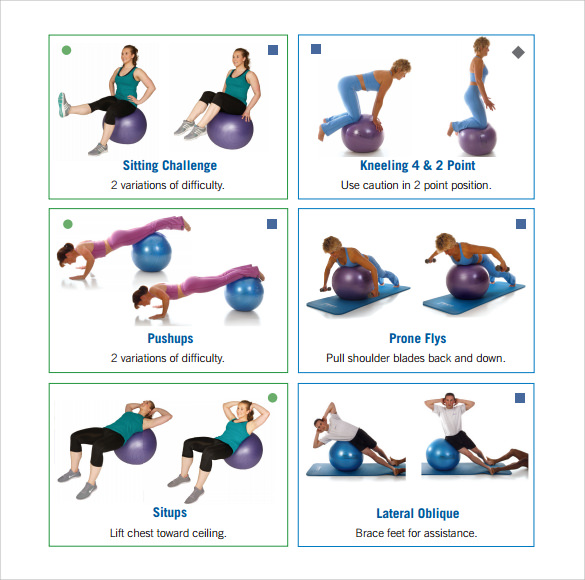Exercise Chart - 7 Download Free Documents in PDF