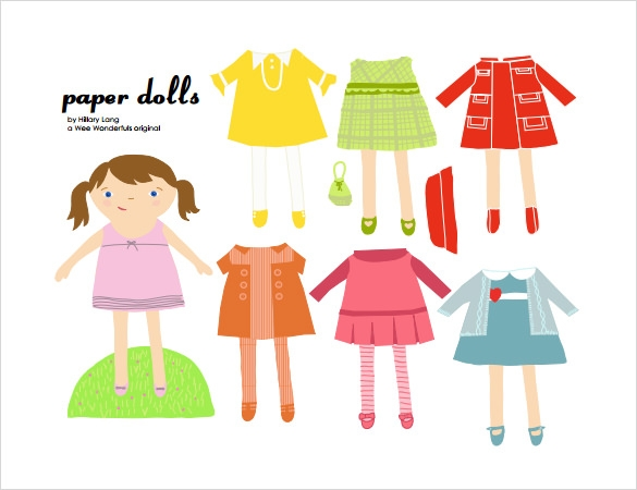 Wonderful Paper Doll Example