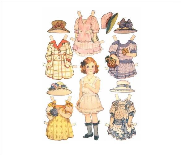 Sample Paper Doll - 6+ Documents In Pdf , Psd