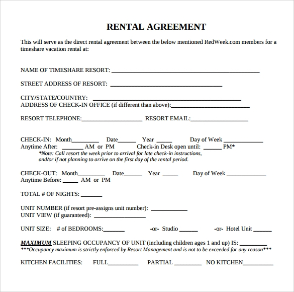rental agreement to download1