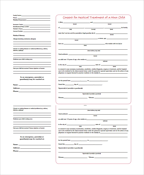15+ Medical Authorization Forms - Free Sample, Example, Format