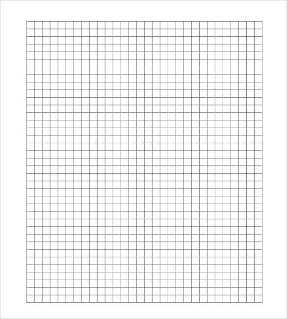 Grid Paper Templates - 6+ Samples , Examples , Format