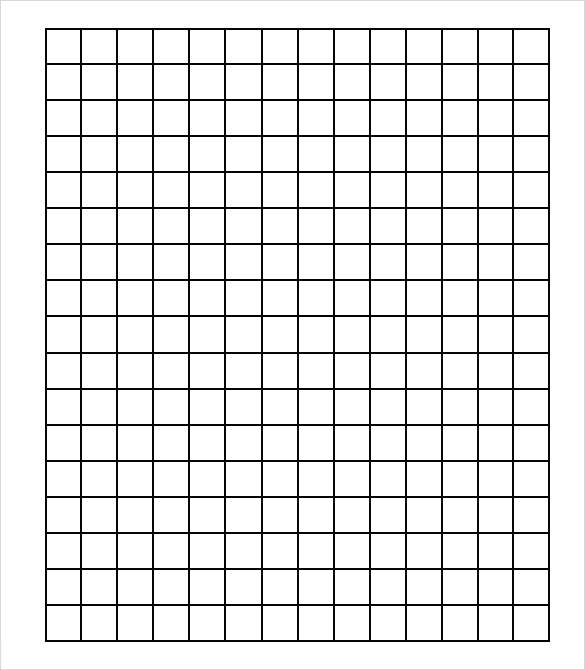 Delightful Grid Paper Templates 7 Samples Examples Format . Intended Grid Paper Template