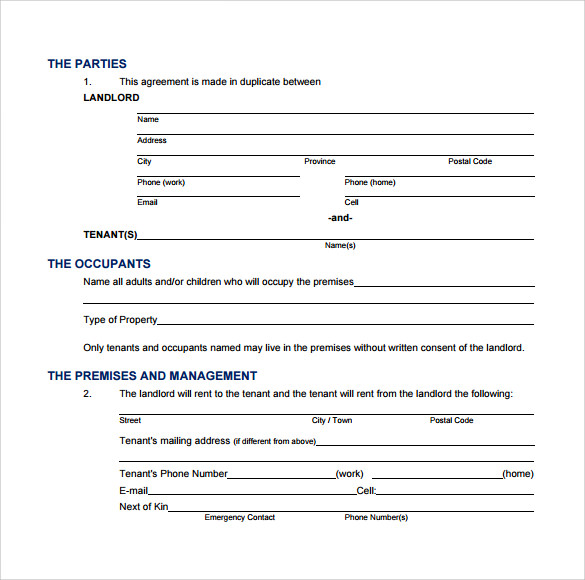 lease agreement in pdf