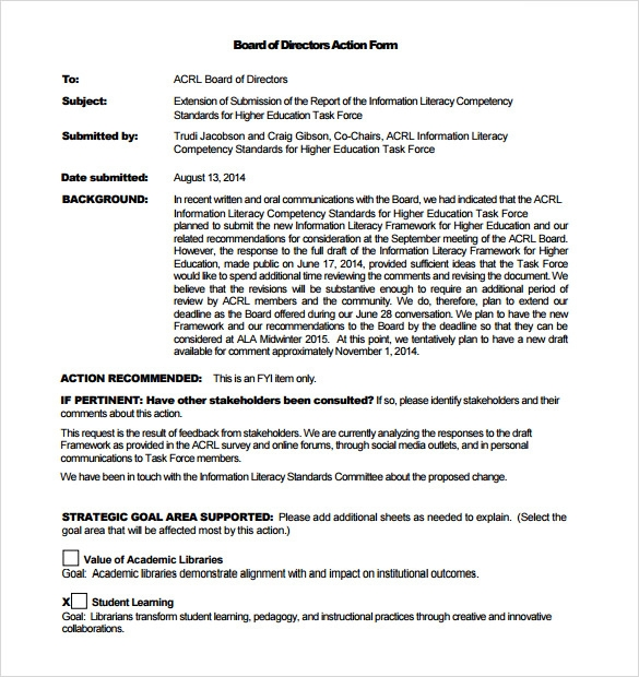 Executive Memo Templates Executive Approval Memo Template Download