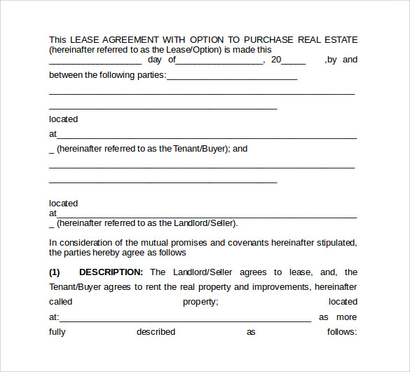 9 office lease agreement templates samples examples for Lease agreement for office space template