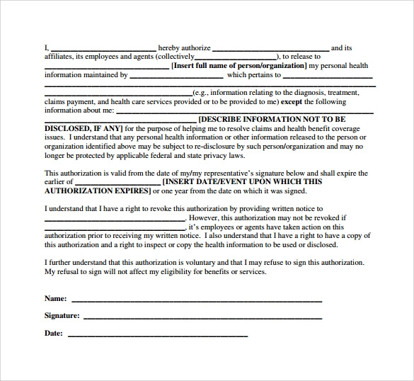 Hipaa Consent Forms  WowcircleTk