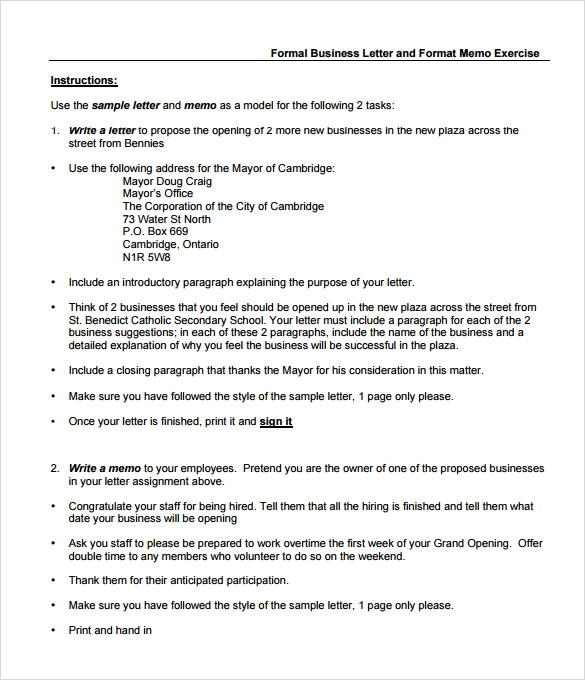 Nice Casual Memo Letter Template Sample Business Memo Template Download