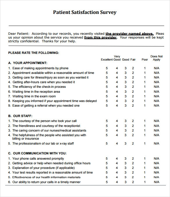 how would you use customer satisfaction surveys to improve quality outcomes This review also identified ten key domains used in patient experience and satisfaction surveys which vary in their frequency of use  surveys and quality/safety.