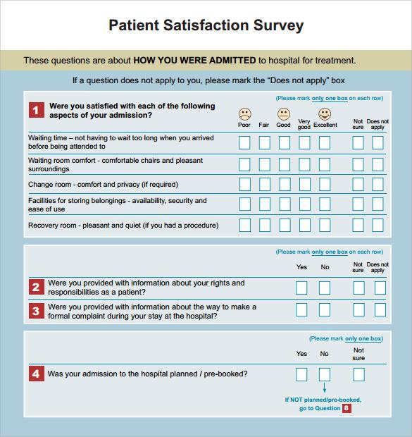 sample satisfaction survey