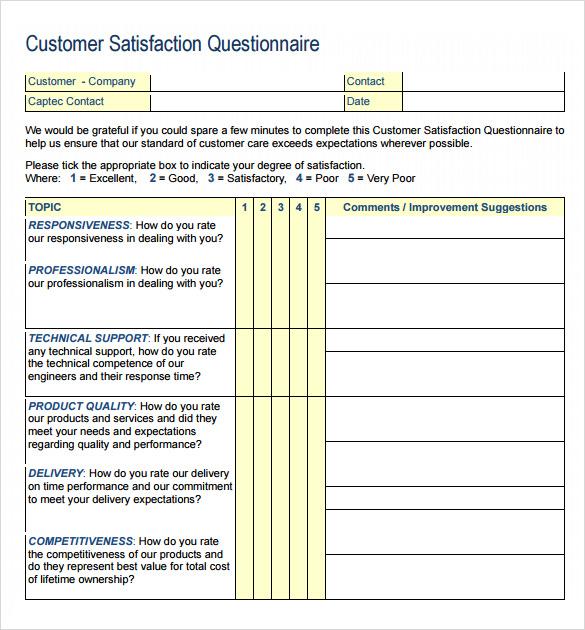 free customer survey