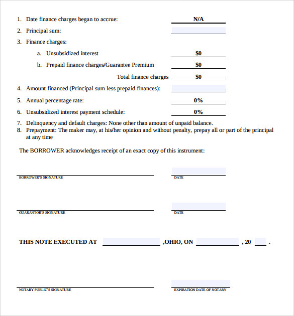 Sample Students Loan Application Form - 7+ Download Free