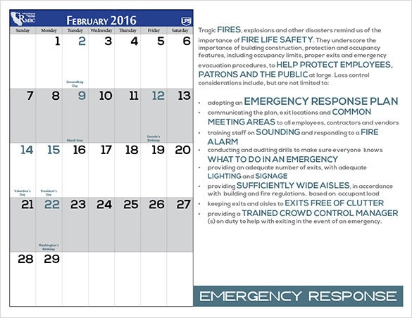 Sample Power Point Calendar Template   Documents In Ppt Psd