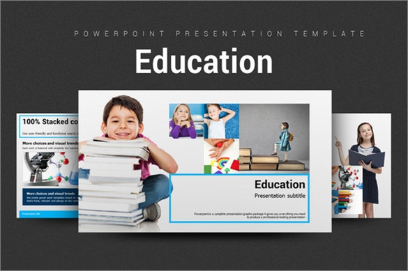 education power point template format