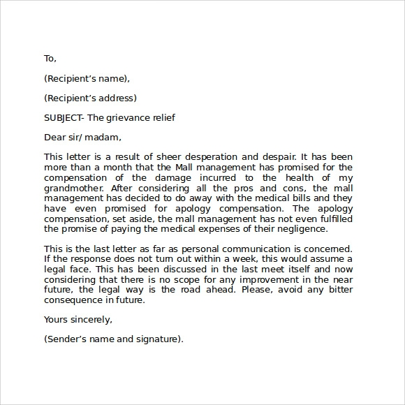 Sample Format For Business Letter - 7+ Free Documents In Pdf, Word