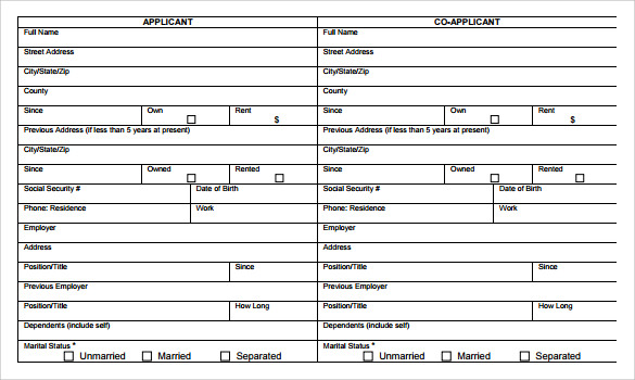Sample Personal Financial Statement Form 7 Download Free – Sample Personal Financial Statement Form