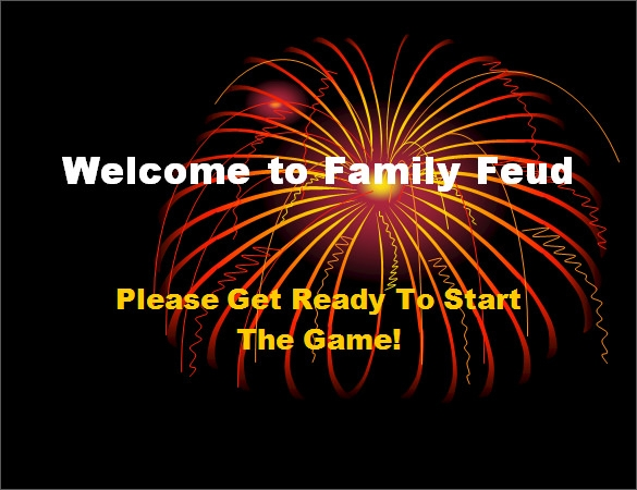 family feud power point template ppt